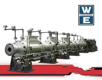 WE Series Extruders